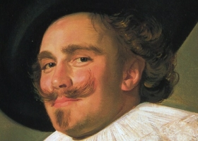 The Laughing Cavalier (detail), Frans Hals, 1624. (Source: The Wallace Collection, London)