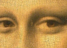 The Mona Lisa (detail),Leonardo Da Vinci, c.1503-1506, Musée du Louvre, Paris