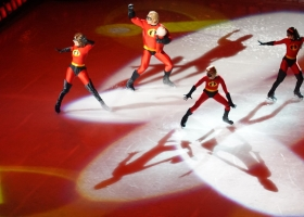 Disney on Ice: The Incredibles, 2015 (Source: Wikimedia Commons)