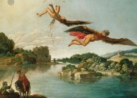 The Fall of Icarus, Carlo Saraceni (c.1580-1620), Museo e Gallerie Nazionale di Capodimonte, Naples, Italy