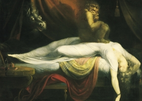 The Nightmare by Henry Fuseli, 1781, Detroit Institute of Art