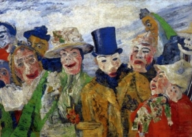 The Intrigue, James Ensor, 1890 (Courtesy: The Royal Museum of Fine Arts Antwerp)