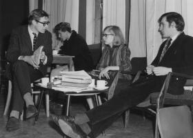 Third Floor Coffee Bar, London School of Economics, 1964 (Source: Wikimedia Commons)