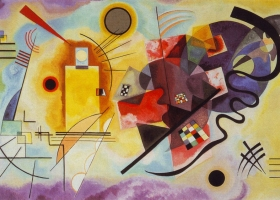 Yellow-Red-Blue, Wassily Kandinsky, 1925, Musee National Art Moderne, Paris