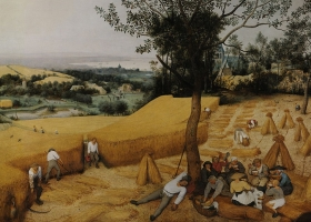 The Harvesters, Pieter Bruegel the Elder, 1565. Courtesy the Metrolopitan Museum, New York