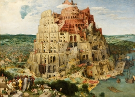 The Tower of Babel, Pieter Bruegel the Elder, 1563 (Courtesy: Kunsthistorisches Museum, Vienna)