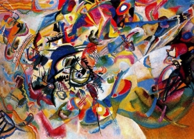 Composition VI, Wassily Kandinsky, 1913 (Courtesy: The State Hemitage Museum, St Petersburg)