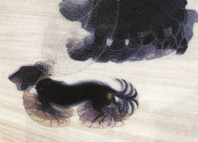 Dynamism of a Dog on a Leash, Giacomo Balla, 1912 (Courtesy: Buffalo Fine Arts Academy, New York)