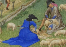 Detail from Les Très Riches Heures du duc de Berry, July, c. 1412-1416 (Courtesy: the Musée Condé, Chantilly)