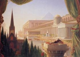 The Architect's Dream, Thomas Cole, 1840 (Courtesy: Toledo Museum of Art, Toledo, Ohio, USA)