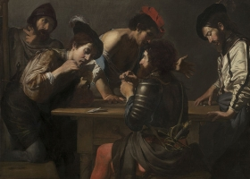The Cheats, Valentin de Boulogne, c.1619 (Courtesy: National Gallery of Art, Washington DC)