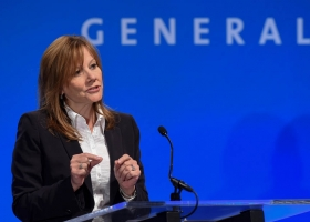 Mary Barra, CEO and Chairperson of General Motors. The first female CEO of a global automaker