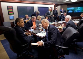 WH Situation Room, 2010 (Source: Wikimedia)