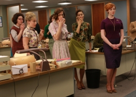 Mad Men, 2007 premiered on AMC, created and produced by Matthew Weiner, Lionsgate Television