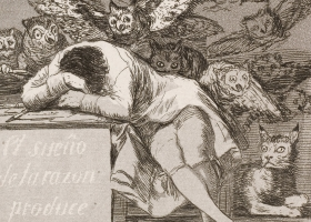 The Sleep of Reason Produces Monsters (detail), Francisco Goya (Courtesy: The Nelson-Atkins Museum of Art, Kansas City, Missouri)