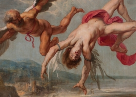 The Fall of Icarus, Jacob Peter Gowy, c.1636 (Courtesy Museo del Prado, Madrid)
