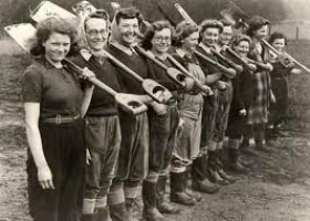 The Women's Land Army, Bellingham, 1943