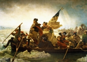 Washington Crossing the Delaware, Emanuel Leutze, 1851