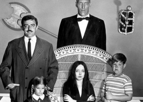 The Addams Family. TV series on ABC from 1964-1966, 20th Century Fox Home Entertainment (Source: Wikimedia)