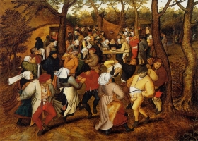 Peasant Wedding Dance, Pieter Brueghel the Younger, 1623 (Source: Wikimedia)