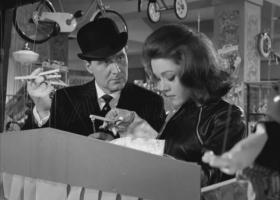The Avengers, 1960s TV series starring Patrick MacNee (John Steed) and Diana Rigg (Mrs Emma Peel), ITV/ABC/Thames Television